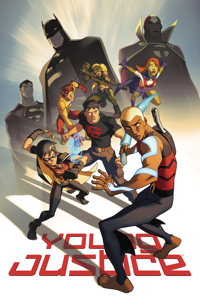young_justice_poster_sdcc_2011_by_philbourassa-d61kldc