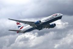 B777 British Airlines