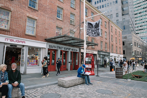 South Street Seaport Museum. From  Six Things To Do At The South Street Seaport After Dark