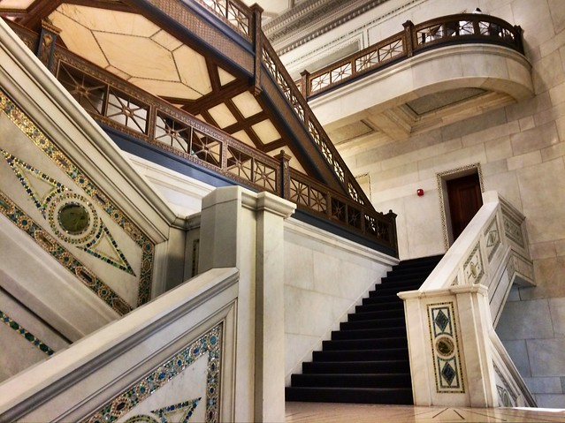 Chicago Cultural Center stairs