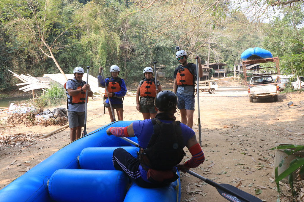 White Water Rafting Briefing