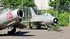 Mikoyan-Gurevich Mig.21F-13 c/n 742218 Romania Air Force serial 18 pre