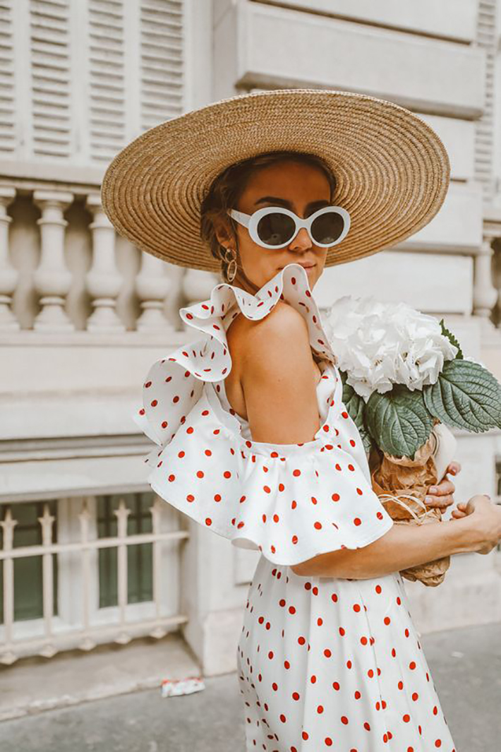 straw hat outfits for this summer trend 2018 style fashion tendencias7