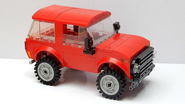 Lego Лада Нива (MOC - 4K)