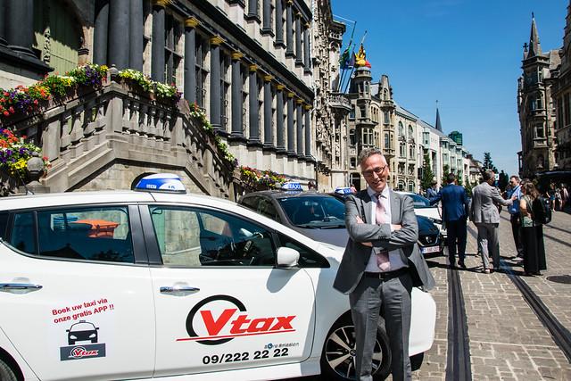 E-taxi zomerconferentie 2018 Gent