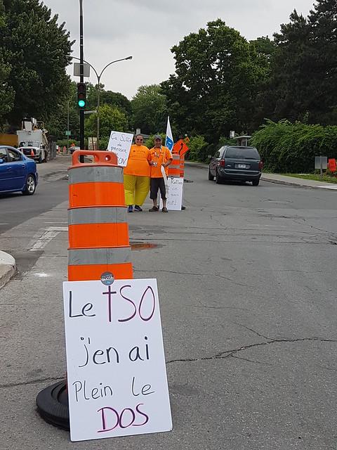 2018-06-28 - Manifestation à l'Hôpital du Sacré-Cœur de Montréal