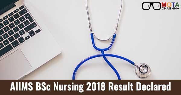 aiims bsc nursing merit list and cut off