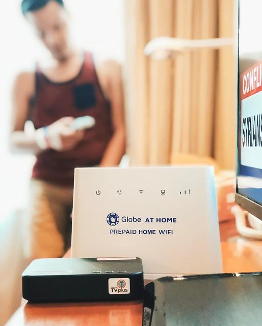 Globe Wifi TV Pack Giveaway