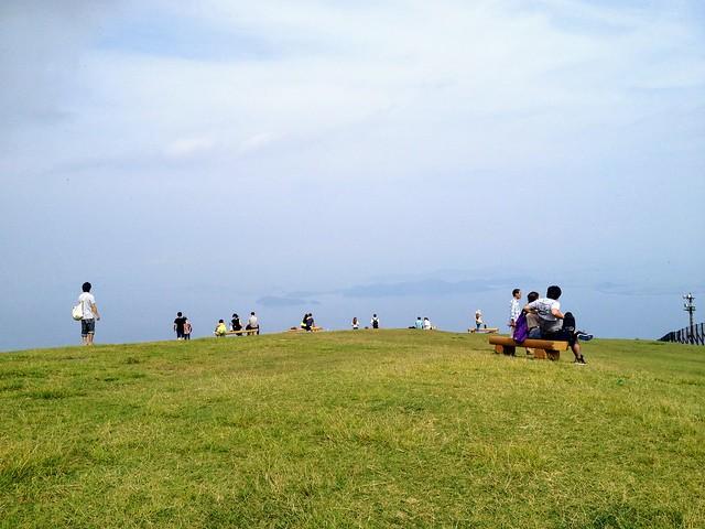 蓬莱山 びわ湖バレイ 沖島