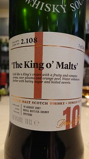 SMWS 2.108 - 'The King o' Malts'