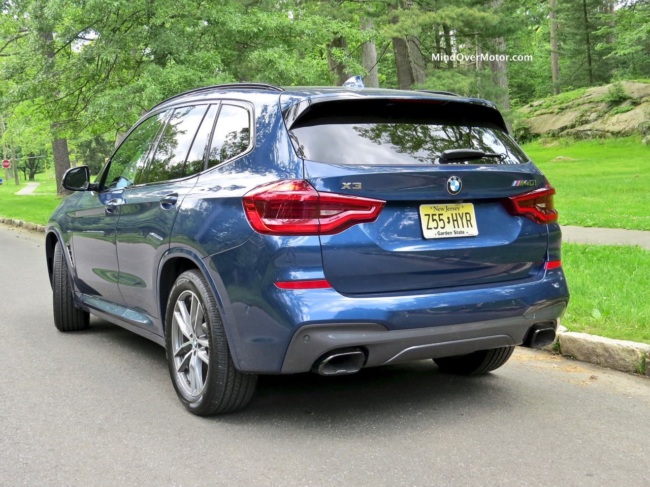 BMW X3 XDrive M40i Cargo Area