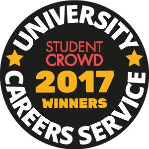 University Careers Service 2017 StudentCrowd winner