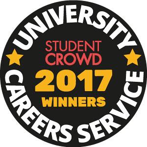 University Careers Service 2017 StudentCrowd winner