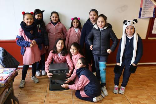 Adquisición de estufas para salas de clases