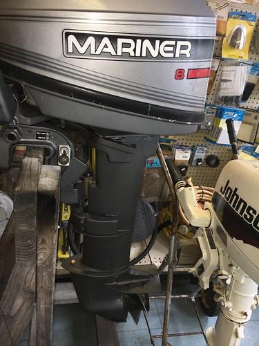 1996 8hp mariner long shaft Year1996 Manufacturer Mariner Model 8 SERIAL Number OG2086337 Description Long shaft Manual start Manual tilt 2 Stroke FULLY SERVICED