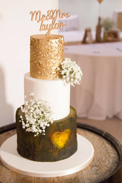 Cake from Couture Wedding Cakes by Sweetcheeks Ltd