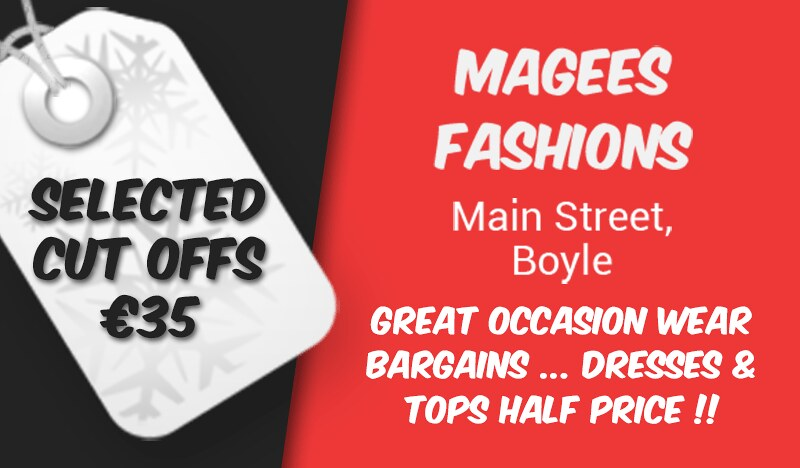 Magees Fashions Summer Sale 2018