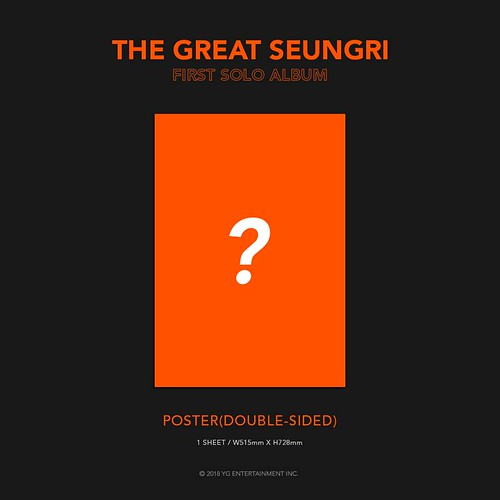 Seungri THE GREAT SEUNGRI Solo Album 2018 (11)