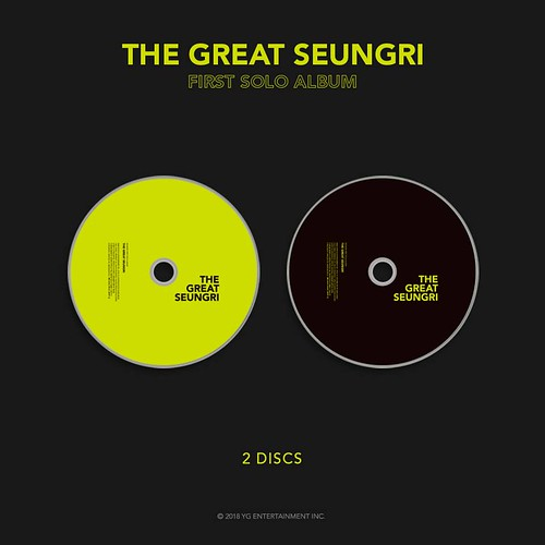 Seungri THE GREAT SEUNGRI Solo Album 2018 (4)