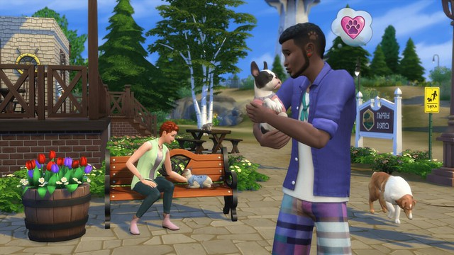 The Sims 4 Gatos e Cães Chegando aos Consoles