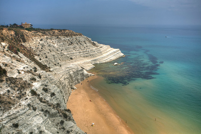 Scala dei turchi from above