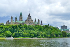 Riverside View of Canada's Parliament Hill