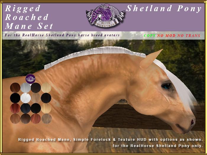 E-RH-Shetland-ManeSet-RoachedMane - TeleportHub.com Live!