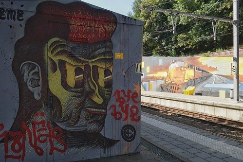 By Seyb, Manyak & Propaganza at Meiser Station (Brussels)