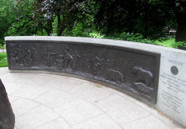 Wojtek Panel, Princes Street Gardens