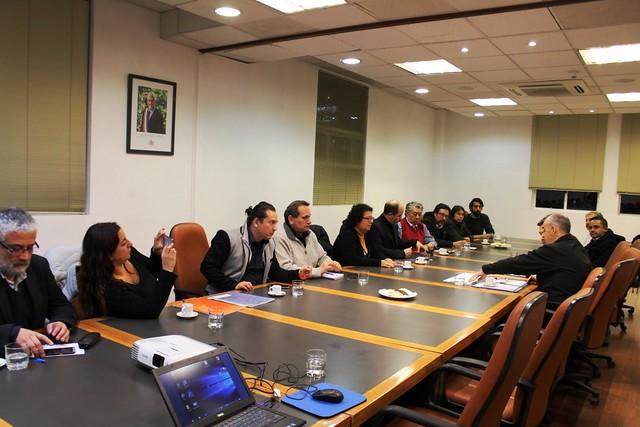 ANEF y Asociaciones Afiliadas reunidas con el Gobierno (22-06-2018)