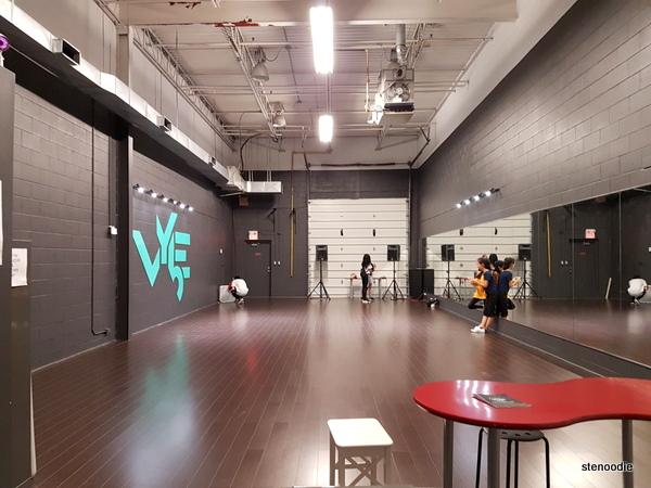 VYbE Dance Company dance studio