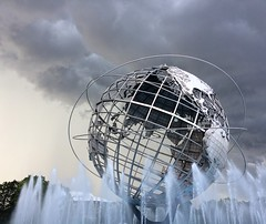 Storm Clouds over the Unisphere