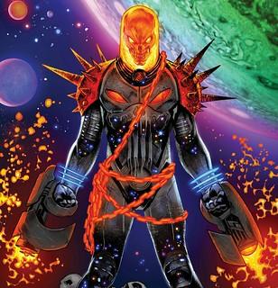 由制裁者所變身的《宇宙惡靈騎士》角色起源介紹!他的機車引擎聲連在外太空都聽得見?