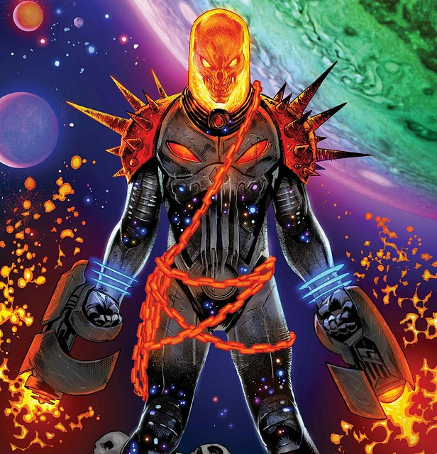 他的機車引擎聲連在外太空都聽得見?! 由制裁者所變身的「宇宙惡靈騎士」角色起源介紹!