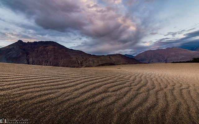 Sand Pattern at Nubra Valley...