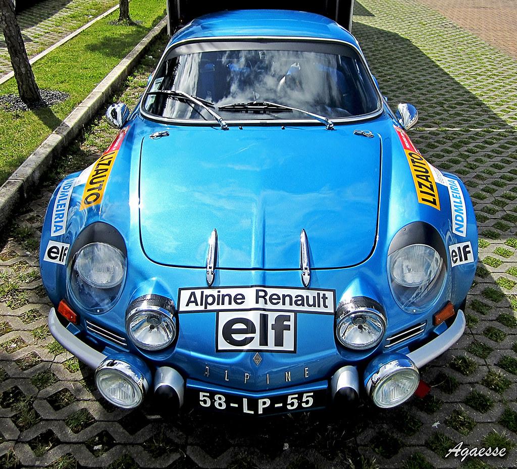 Renault Alpine A110 Agaesse Flickr