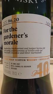 SMWS 96.20 - For the gardener's morale