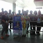 4-Welcoming Vassula at Laguindingan Airport