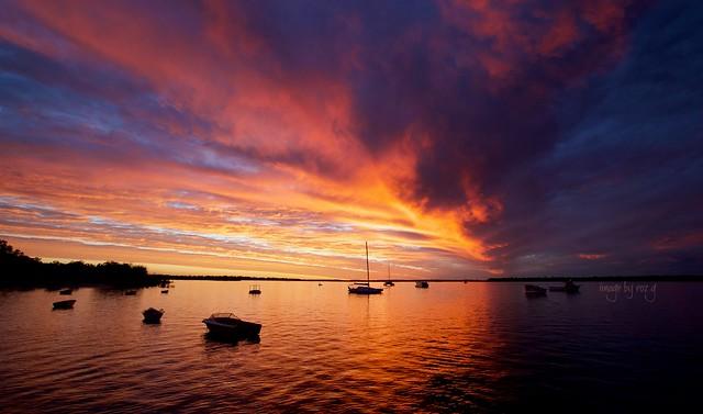 Burrum Sunset 2, Canon EOS 5D MARK IV, Canon EF 16-35mm f/2.8L II