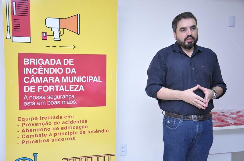 Solenidade de posse da 2ª Turma da Brigada de Incêndio da Câmara Municipal de Fortaleza (10.08.2018)