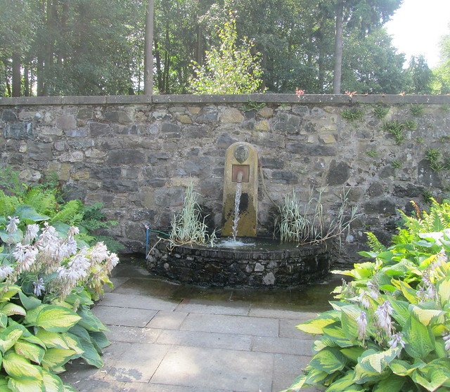fountain, Backhouse Rossie Estate, Fife