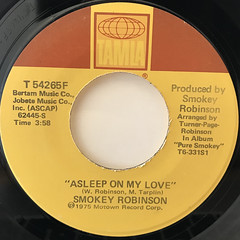 SMOKEY ROBINSON:QUIET STORM(LABEL SIDE-B)