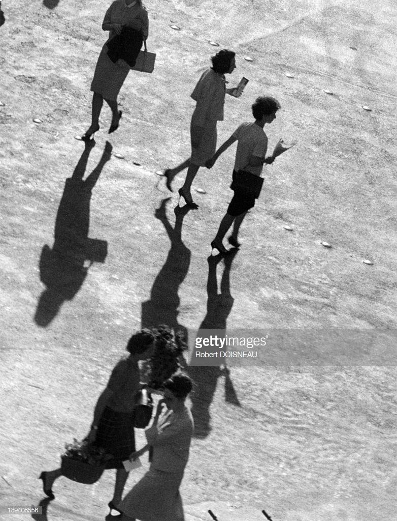 1964. Район Ле-Аль весной