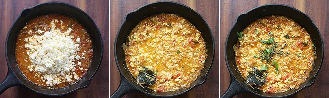 How to make paneer bhurji gravy recipe - Step6