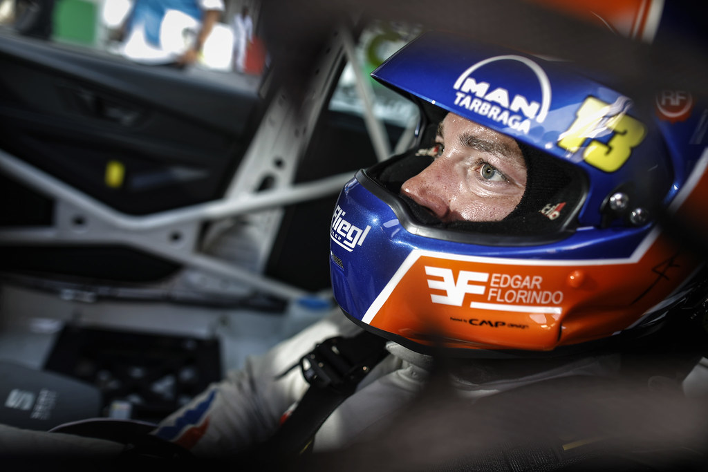 FLORINDO Edgar (PRT), Seat Cupra TCR, Veloso Motorsport, portrait during the 2018 FIA WTCR World Touring Car cup of Portugal, Vila Real from june 22 to 24 - Photo Francois Flamand / DPPI