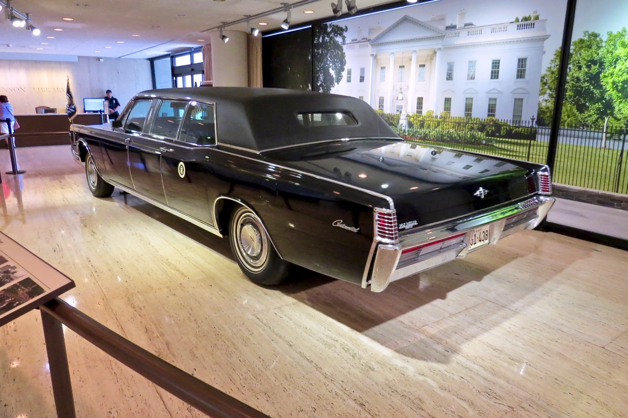 LBJ Limo Front