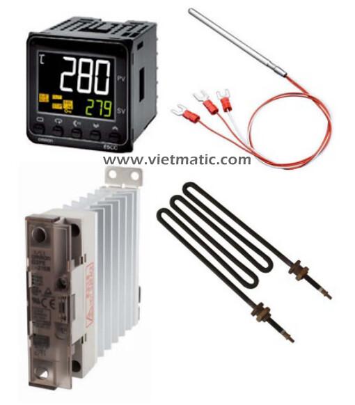 Omron E5CC và các thiết bị đo và điều khiển nhiệt độ