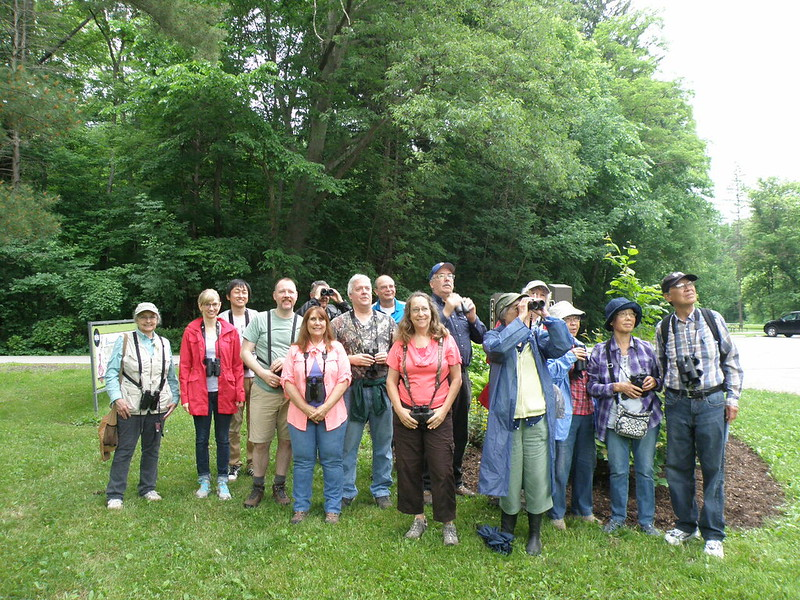 Second Saturday Birders June 2018 by Penny O'Connor.