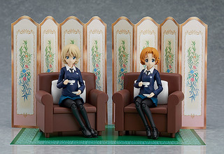 GIRLS und PANZER Darjeeling & Orange Pekoe Set by Figma