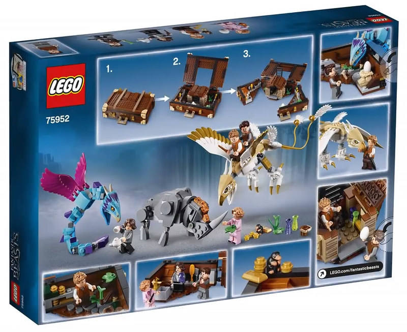 LEGO Fantastic Beasts Newts Case of Magical Creatures (75952)